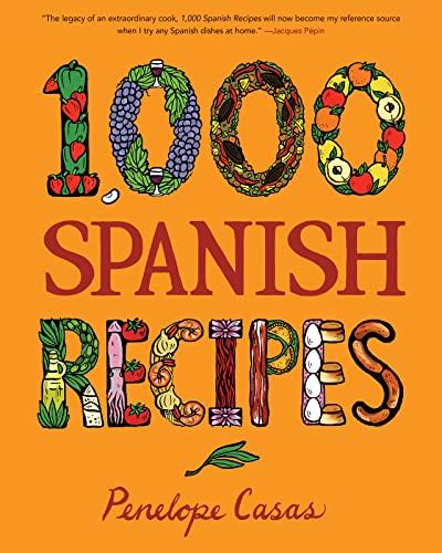 9780470164990: 1,000 Spanish Recipes (1,000 Recipes)