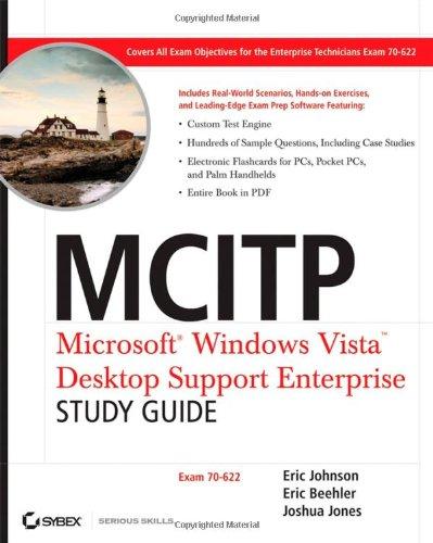9780470165355: MCITP: Microsoft Windows Vista Desktop Support Enterprise Study Guide: Exam 70-622