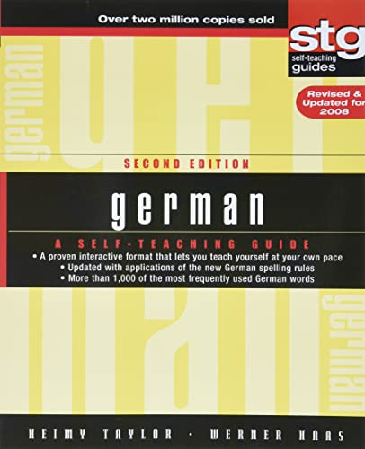 9780470165515: German STG 2e Revised: A Self-teaching Guide (Wiley Self–Teaching Guides)