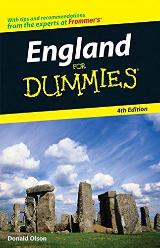 9780470165614: England for Dummies (Dummies Travel)