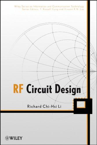 9780470167588: RF Circuit Design