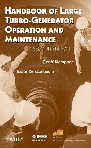 9780470167670: Handbook of Large Turbo-Generator Operation and Maintenance