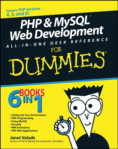 9780470167779: PHP and MySQL Web Development All-in-One Desk Reference For Dummies