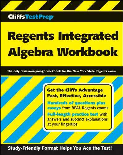 9780470167823: CliffsTestPrep Regents Integrated Algebra Workbook