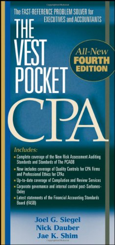 9780470168134: The Vest Pocket CPA