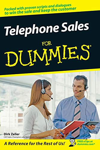 9780470168363: Telephone Sales for Dummies