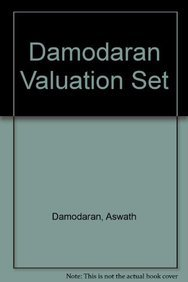 Damodaran Valuation Set (0470168390) by Damodaran, Aswath