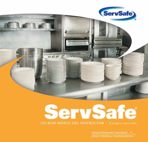 9780470168417: ServSafe Instructor Basic CD-ROM, 4th Edition in Spanish (PowerPoint Slides and Food Safety Showdown Game) (Spanish Edition)