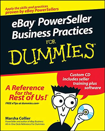 9780470168424: eBay PowerSeller Business Practices for Dummies