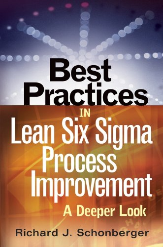 9780470168868: Best Practices in Lean Six SIGMA Process Improvement: A Deeper Look