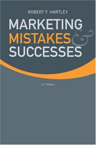 9780470169810: Marketing Mistakes and Successes