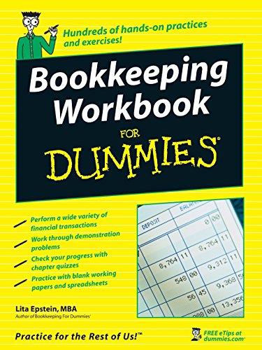 9780470169834: Bookkeeping Workbook For Dummies
