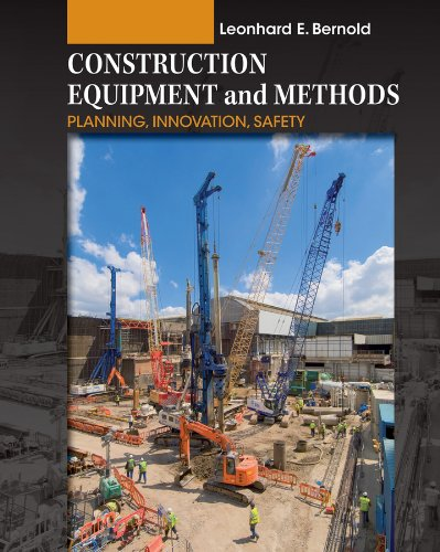 9780470169865: Construction Equipment and Methods: Planning, Innovation, Safety