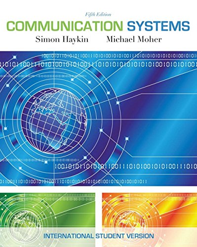 9780470169964: Communication Systems, International Student Version, 5th Edition