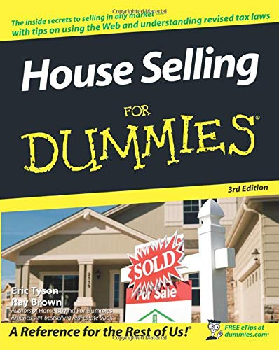 9780470170465: House Selling For Dummies, 3rd edition