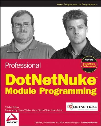 9780470171165: Professional DotNetNuke Module Programming