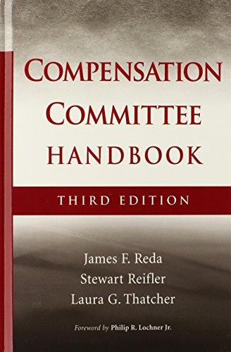 9780470171318: The Compensation Committee Handbook