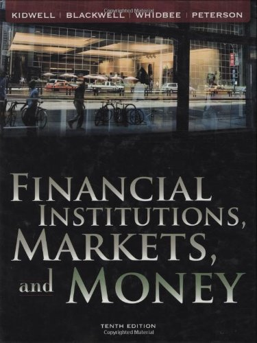 9780470171615: Financial Institutions, Markets, and Money