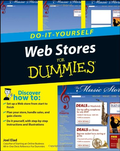 9780470174432: Web Stores Do-It-Yourself for Dummies