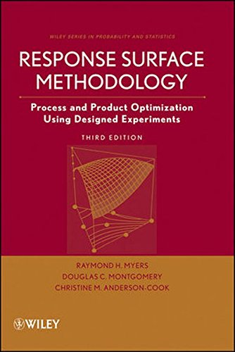 9780470174463: Response Surface Methodology: Process and Product Optimization Using Designed Experiments (Wiley Series in Probability and Statistics)