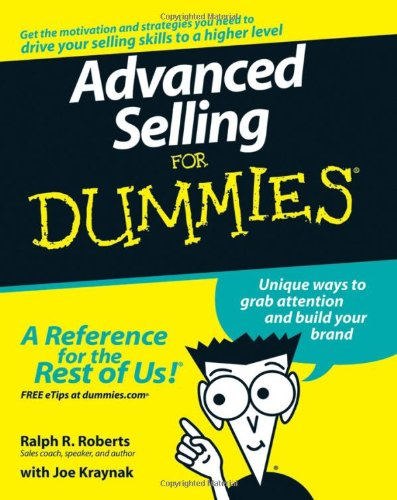 9780470174678: Advanced Selling For Dummies