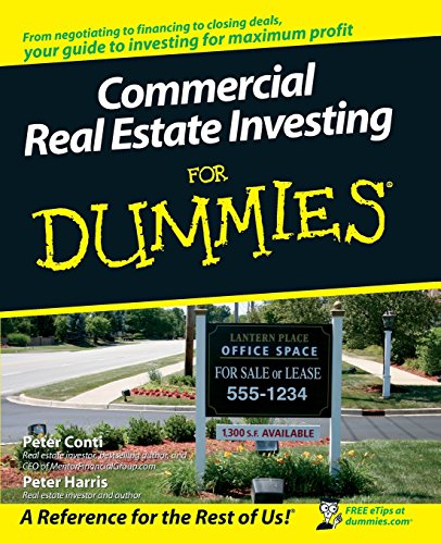 9780470174913: Commercial Real Estate Investing for Dummies