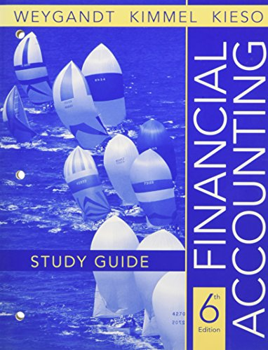 9780470175880: Financial Accounting, Study Guide
