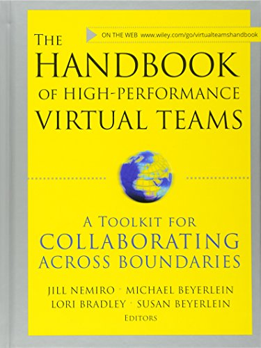 9780470176429: The Handbook of High Performance Virtual Teams: A Toolkit for Collaborating Across Boundaries