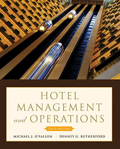 9780470177143: Hotel Management and Operations