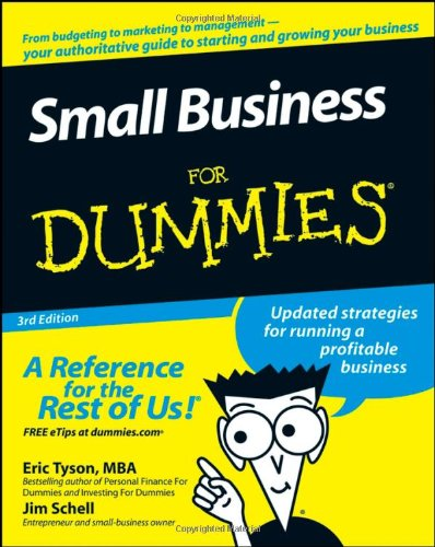 9780470177471: Small Business For Dummies