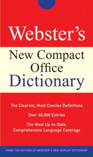 9780470177686: Webster's New Compact Office Dictionary (Custom)