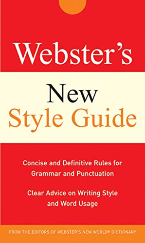 9780470177754: Webster's New Style Guide (Custom)