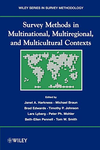 9780470177990: Survey Methods in Multicultural, Multinational, and Multiregional Contexts