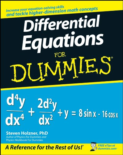 9780470178140: Differential Equations For Dummies