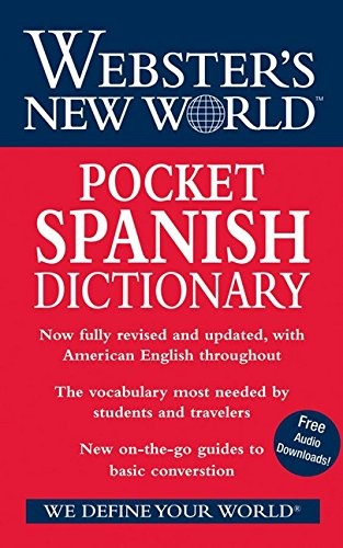 9780470178232: Webster's New World Pocket Spanish Dictionary