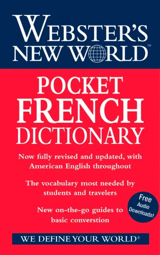 9780470178249: Webster's New World Pocket French Dictionary