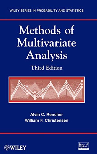9780470178966: Methods of Multivariate Analysis, Third Edition (Wiley Series in Probability and Statistics)