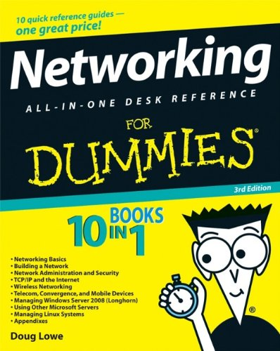 9780470179154: Networking All-in-One Desk Reference For Dummies 3rd Edition