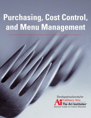 9780470179161: Purchasing, Cost Control, and Menu Management