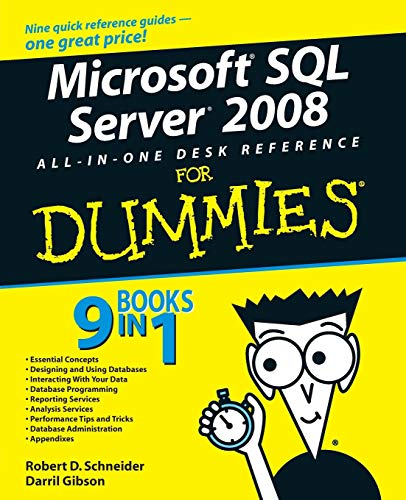 9780470179543: Microsoft SQL Server 2008 All-in-One Desk Reference For Dummies