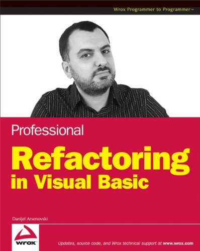 9780470179796: Professional Refactoring in Visual Basic (Wrox Professional Guides)