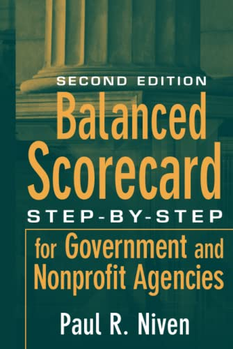 9780470180020: Balanced Scorecard: Step-By-Step for Government and Nonprofit Agencies