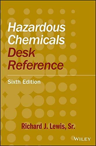 9780470180242: Hazardous Chemicals Desk Reference