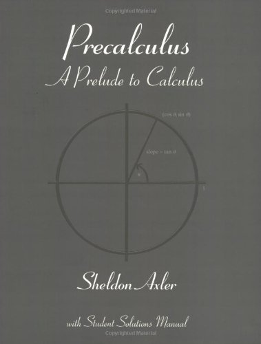 9780470180723: Precalculus: A Prelude to Calculus