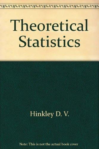 9780470181447: Theoretical Statistics