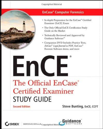 EnCE EnCase Computer Forensics: The Official EnCase ...