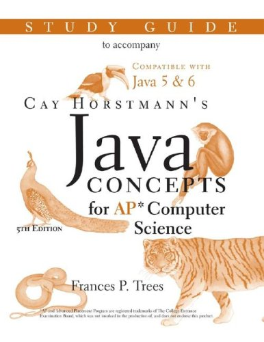 9780470181614: Java Concepts: Advanced Placement Computer Science Study Guide