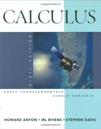 9780470182048: Calculus: Early Transcendentals, Single Variable