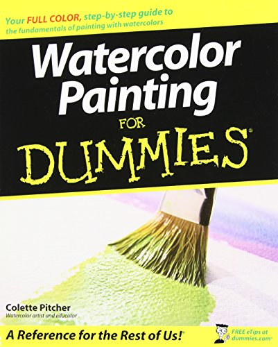 9780470182314: Watercolor Painting For Dummies