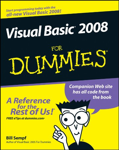 9780470182383: Visual Basic 2008 For Dummies